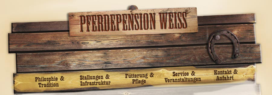 Pferdepension Weiß